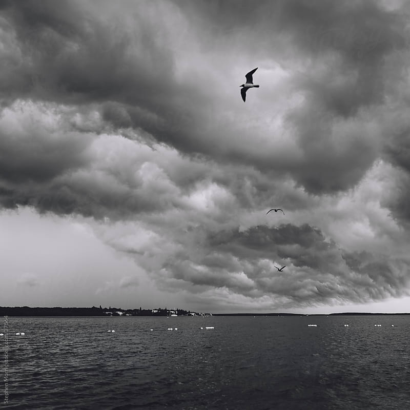Storm Clouds over the Florida,Keys by Stephen Morris for Stocksy United