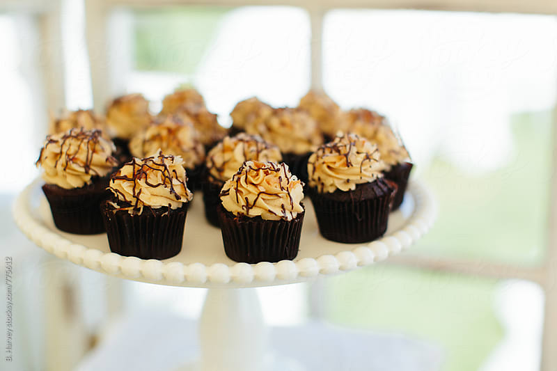 Cupcakes at an Event by B. Harvey for Stocksy United