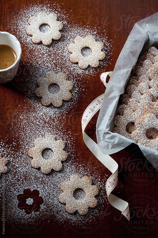 Canestrelli cookies by Federica Di Marcello for Stocksy United