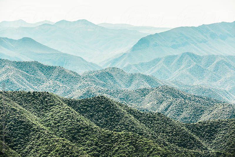 Mountain cordillera landscape view by Alejandro Moreno de Carlos for Stocksy United