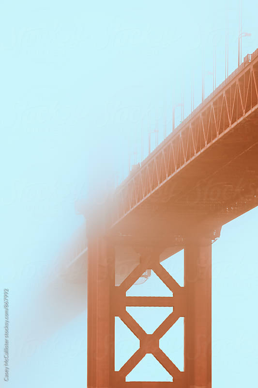 Golden Gate Fog by Casey McCallister for Stocksy United