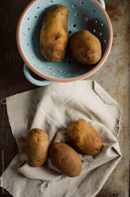 potatoes by Crissy Mitchell for Stocksy United