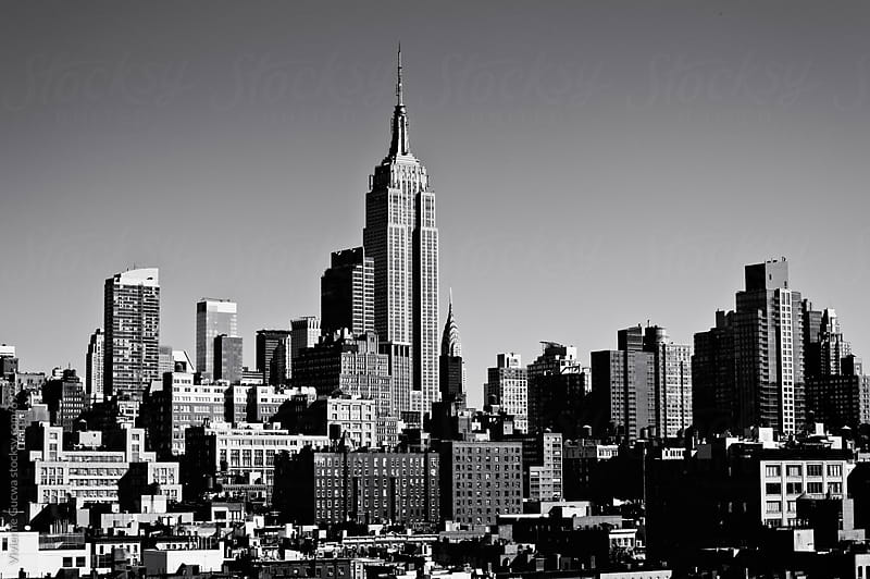 The Empire State Building and New York City Skyline by Vivienne Gucwa for Stocksy United