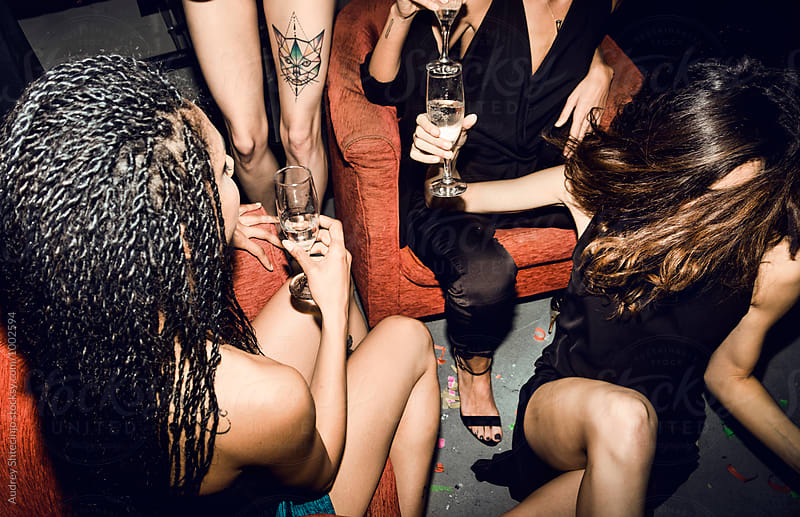 Girls nigh out. by Audrey Shtecinjo for Stocksy United