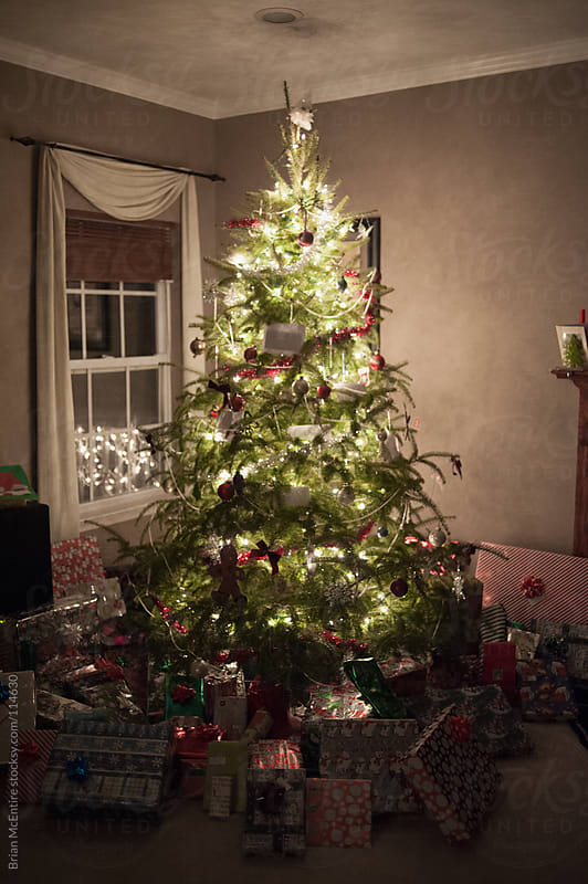 Christmas Eve, After Santa Has Delivered Presents by Brian McEntire for Stocksy United