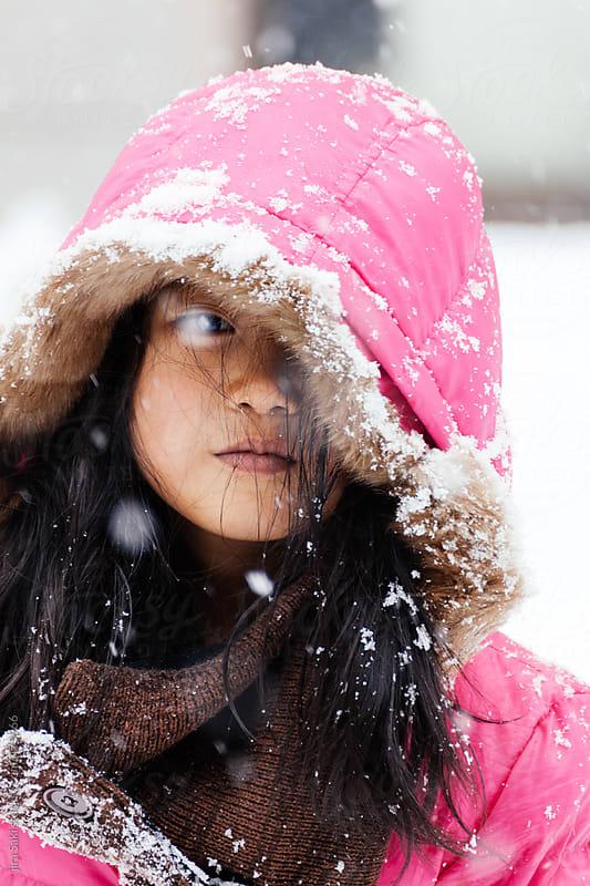 girl by jira Saki for Stocksy United