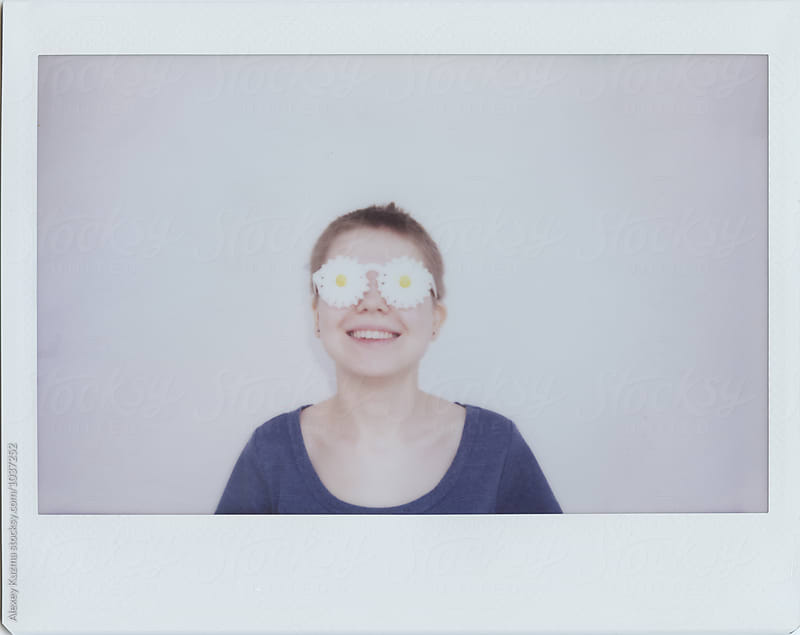 portrait of happy young woman by Vesna for Stocksy United