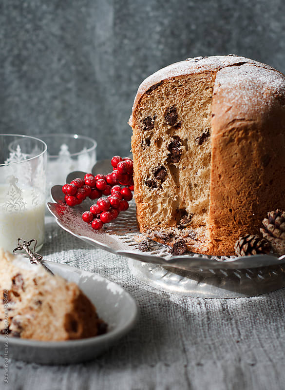 Chocolate Panettone by Dobránska Renáta for Stocksy United