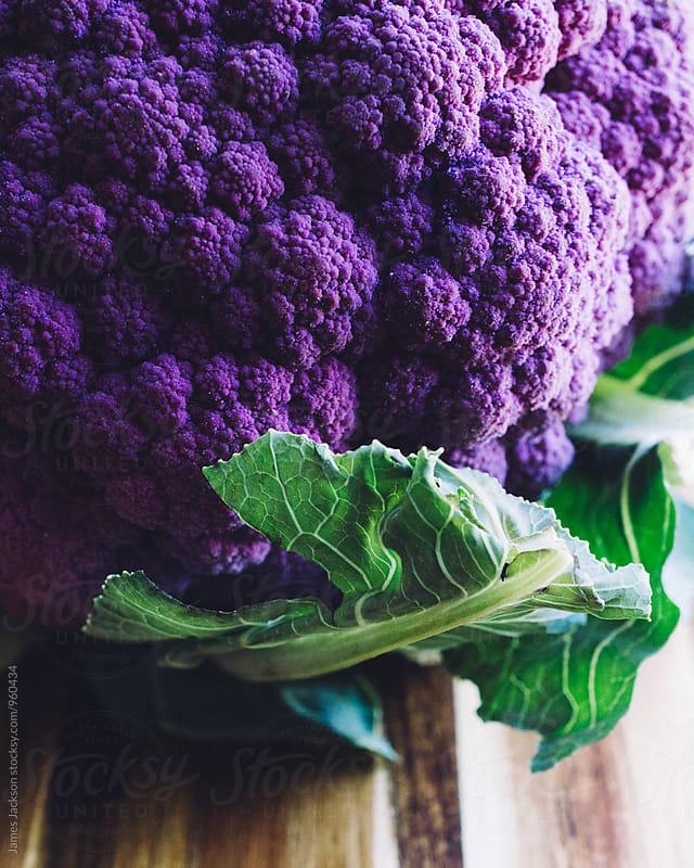 Purple Cauliflower by James Jackson for Stocksy United