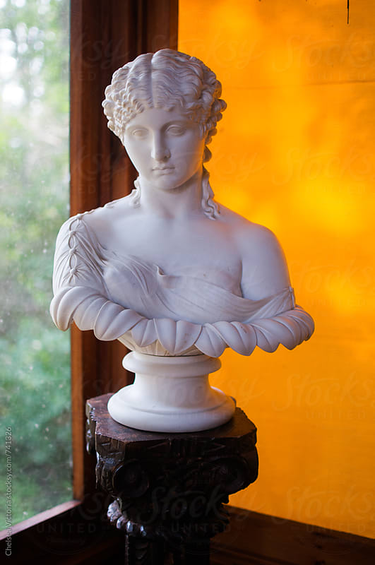 A bust of a woman by Chelsea Victoria for Stocksy United