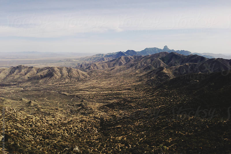 Arizona Desert Mountain Landscape by Kevin Russ for Stocksy United