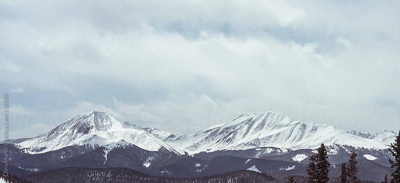 Colorado Mountains by Chris Martin for Stocksy United