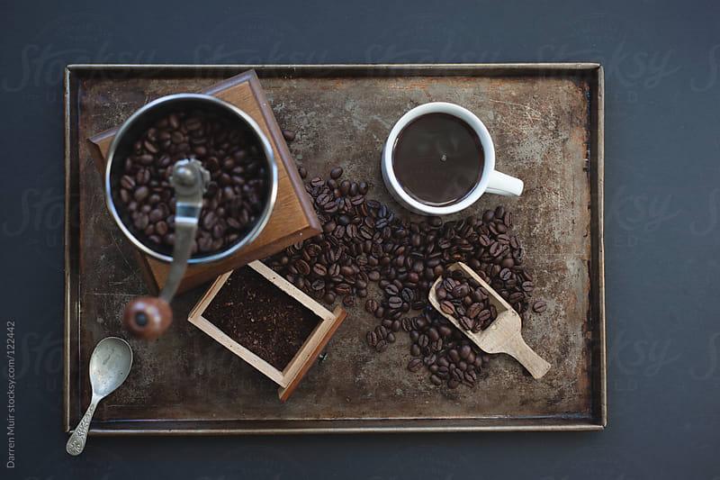 Coffee still life.  by Darren Muir for Stocksy United