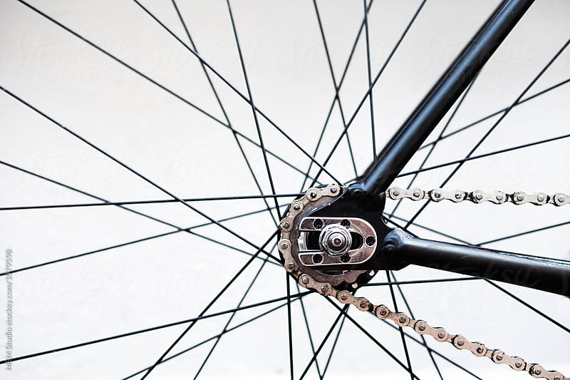 Fixie detail by MEM Studio for Stocksy United