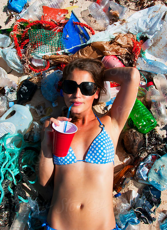 Plastic Beach by Shane Gross for Stocksy United