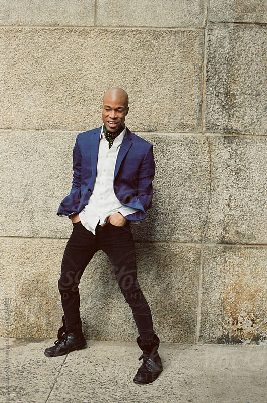 Stylish Black man in New York City by Cameron Whitman for Stocksy United