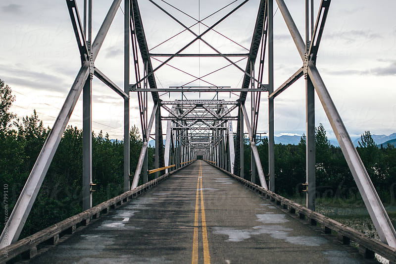 knik bridge by Jake Elko for Stocksy United