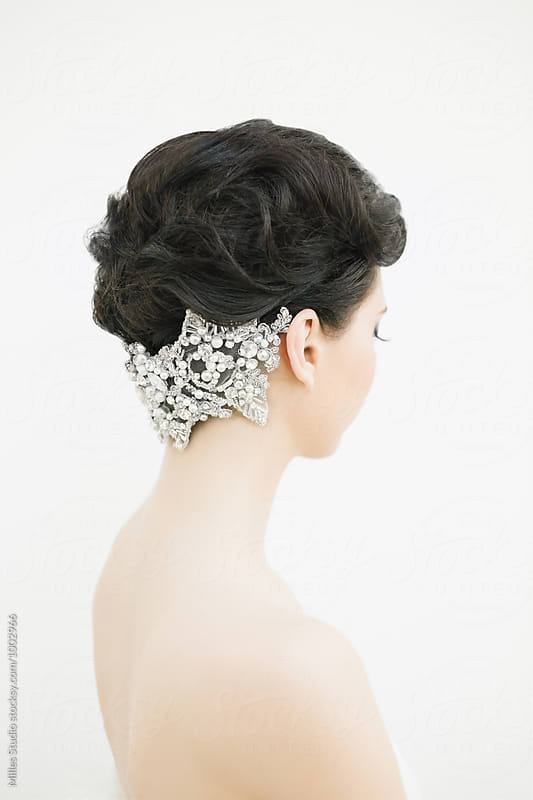 Bride Portrait by Milles Studio for Stocksy United