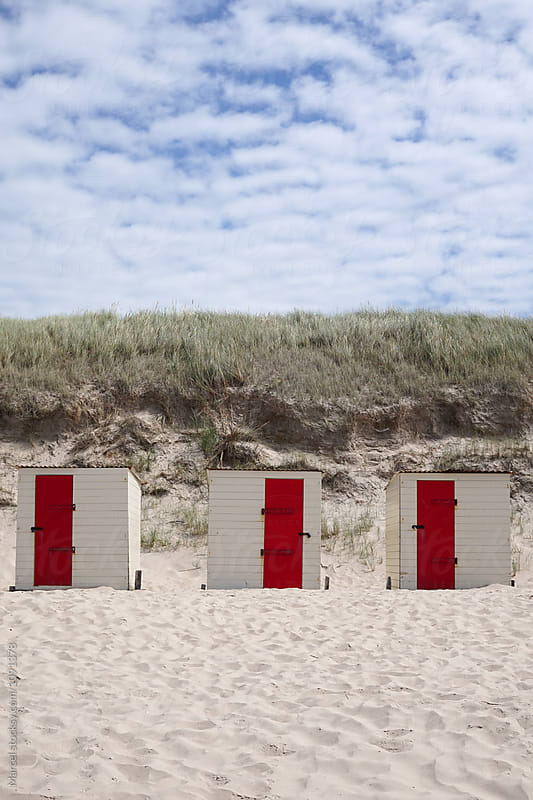 Dutch beach in summer by Marcel for Stocksy United