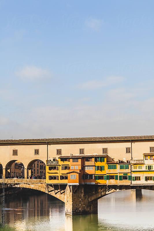 Ponte Vecchio Famous Bridge in Florence, Italy by Giorgio Magini for Stocksy United