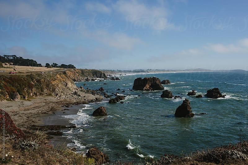 Ocean Cliffs by Christian Gideon for Stocksy United