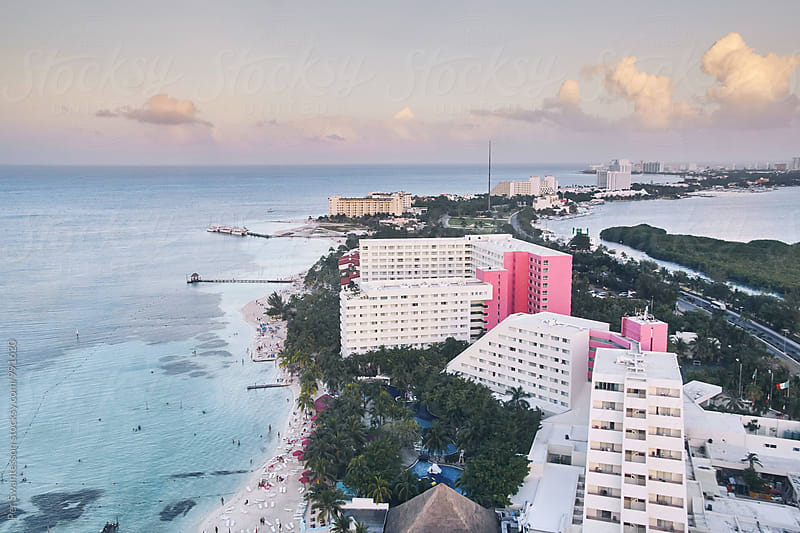 Cancun skyline by Per Swantesson for Stocksy United