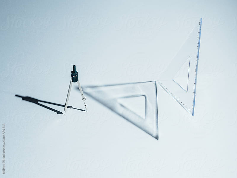 Geometry tools by Milena Milani for Stocksy United