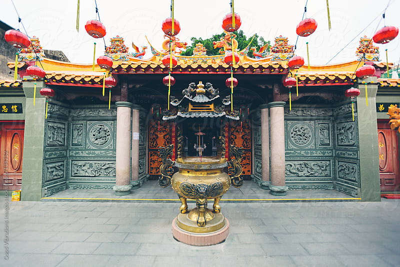 Chinese Temple by Good Vibrations Images for Stocksy United