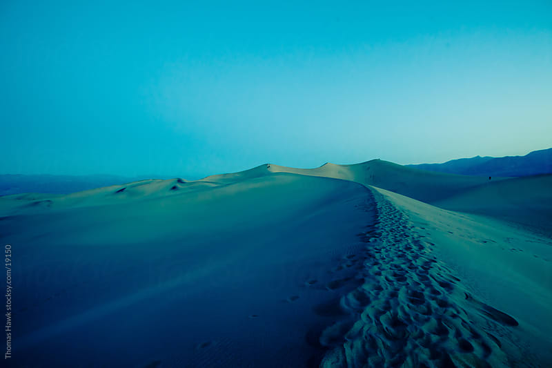 Death Valley Pre Dawn by Thomas Hawk for Stocksy United