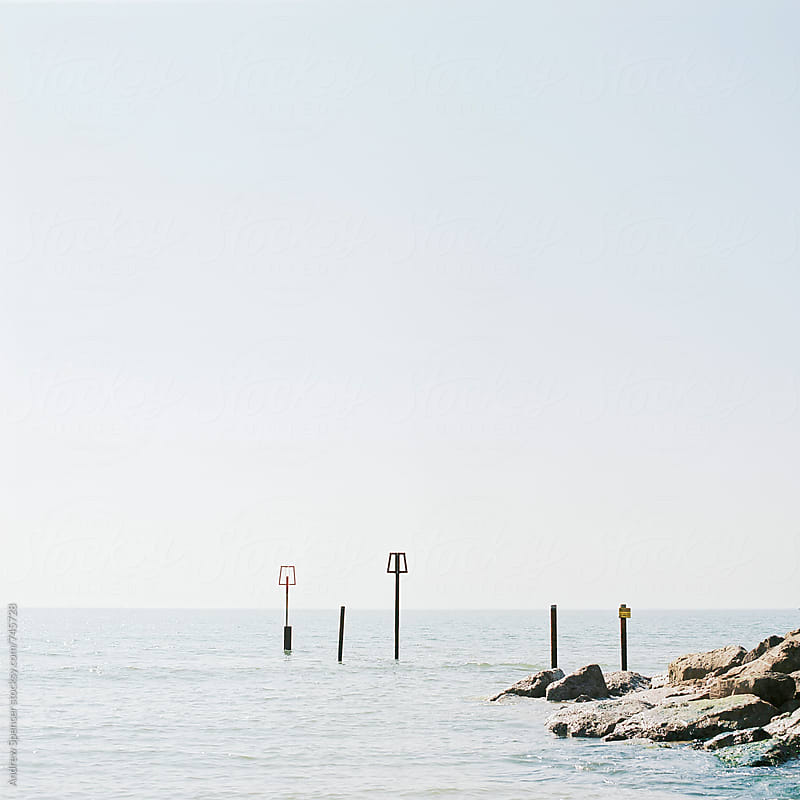 Calm sea  by Andrew Spencer for Stocksy United