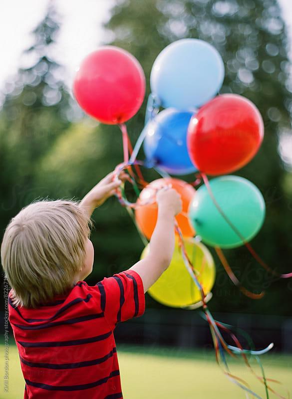 balloons by Kirill Bordon photography for Stocksy United