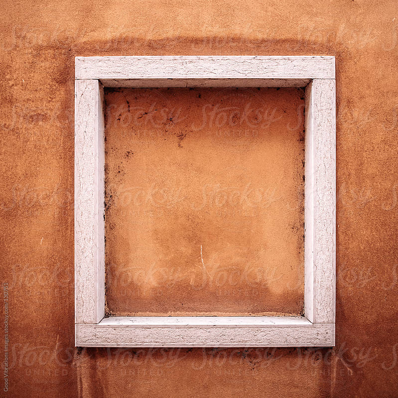Frame on a Tuscan wall by Good Vibrations Images for Stocksy United