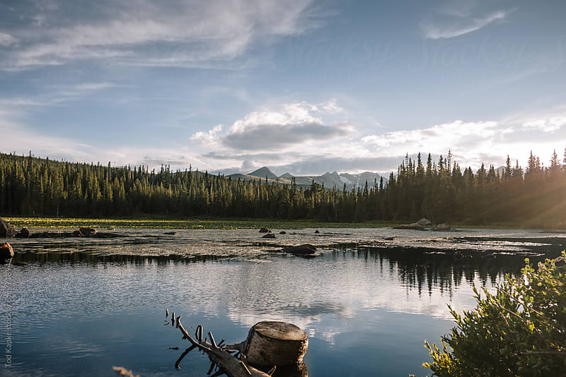 Brainard Lake Colorado by Tod Kapke for Stocksy United