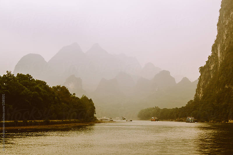 Li River, China by Matt Lief Anderson for Stocksy United