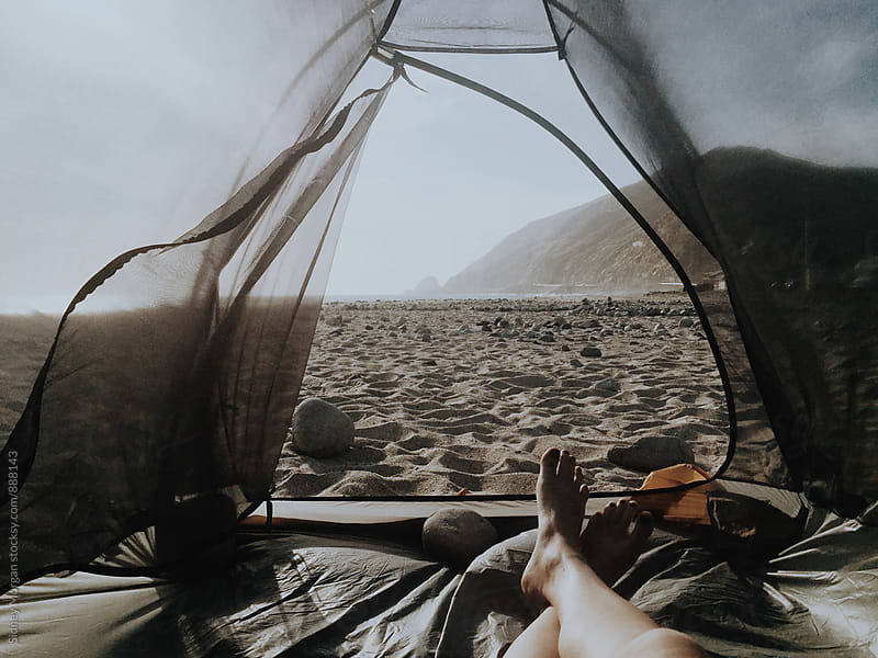 Malibu Camping by Sidney Morgan for Stocksy United