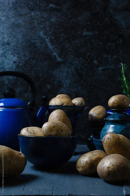 Potato still life. by Darren Muir for Stocksy United