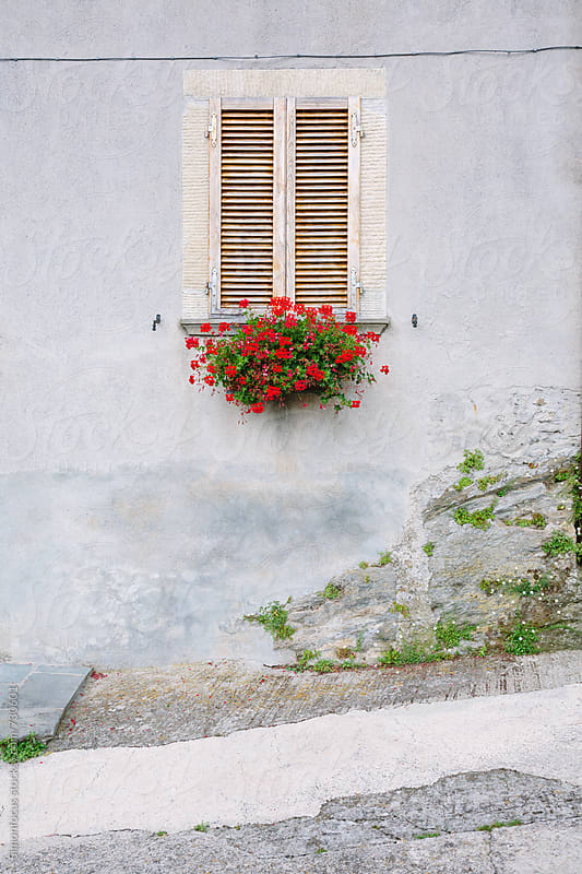 Tuscan shutters by Simonfocus for Stocksy United