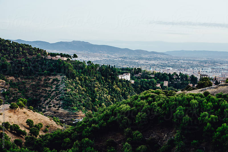 Landscape from San Miguel Alto (Granada, Spain) by María Barba for Stocksy United