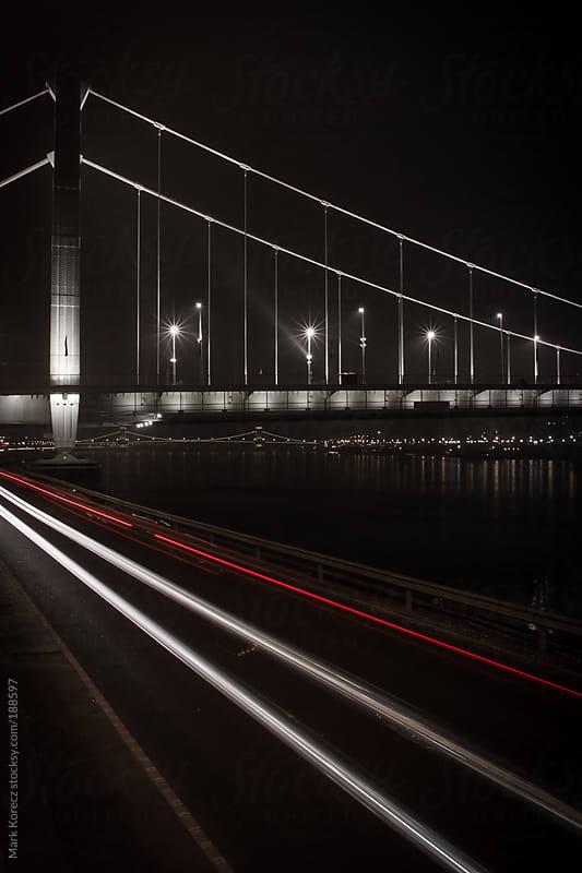 Elizabeth bridge in Budapest by Mark Korecz for Stocksy United