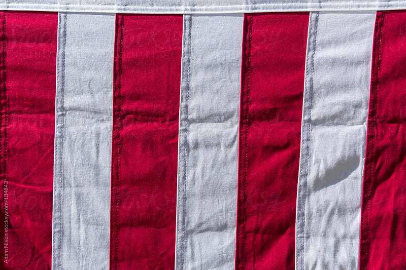 Red & White Stripes by Adam Nixon for Stocksy United