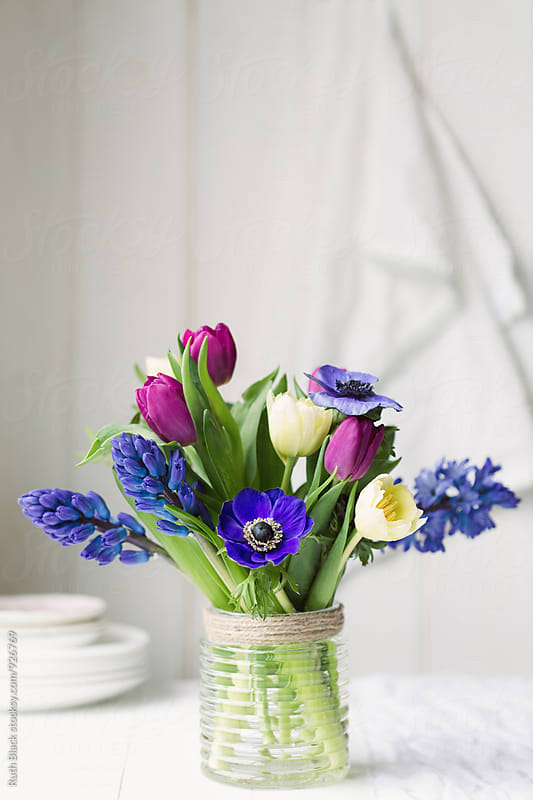 Spring flowers by Ruth Black for Stocksy United