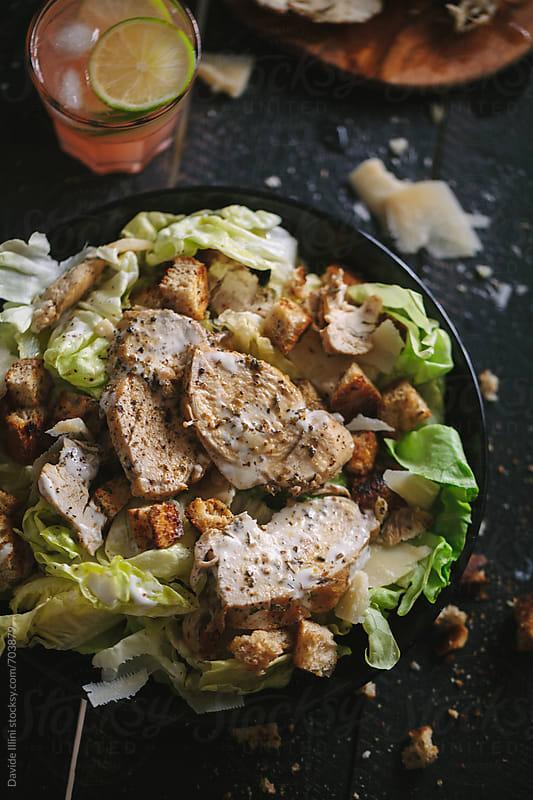 Caesar Salad by Davide Illini for Stocksy United