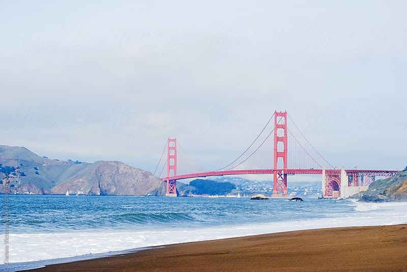 The Golden Gate Bridge by Chelsea Victoria for Stocksy United