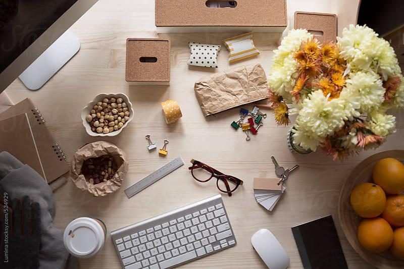 Businesswoman's Desk by Lumina for Stocksy United