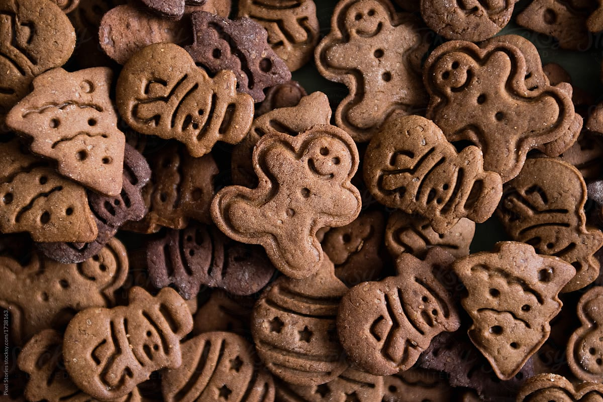 Christmas Cookies Background By Pixel Stories Christmas Cookie