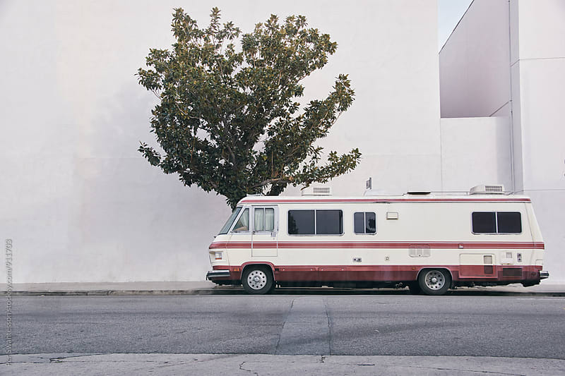 Vintage recreational vehicle camper by Per Swantesson for Stocksy United