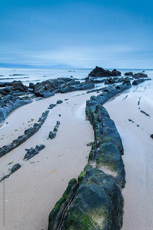 Beach&Rocks II by Marilar Irastorza for Stocksy United