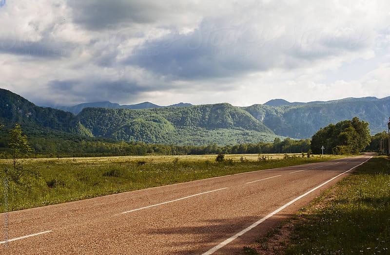 Highway by Sveta SH for Stocksy United