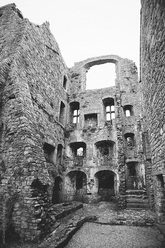 Oxwich Castle by Jen Grantham for Stocksy United