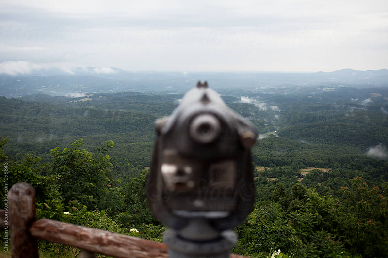 Scenic Overlook in the Ozarks by Christian Gideon for Stocksy United